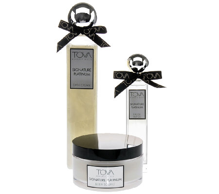 TOVA Signature Platinum 3-Piece Gift Set