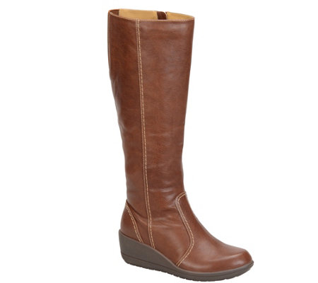 Softspots Water-Resistant Tall Boots - Carla