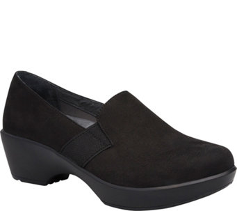 Dansko Leather Slip-on Clogs - Jessica - A341019