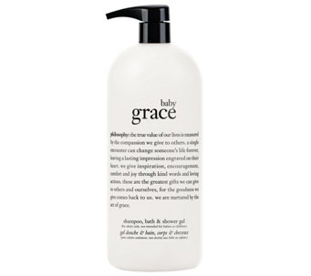 philosophy baby grace shampoo, bath, and showergel, 32 oz - A341319
