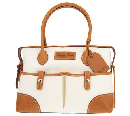 Dooney & Bourke Florentine Vachetta Leather Medium Satchel