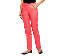 "Denim & Co. Petite ""How Smooth"" Straight Leg Jeans - A239620"