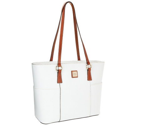 Dooney & Bourke Pebble Leather Helena Shopper