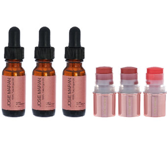 Josie Maran 6 Piece Argan Oil & Color Stick Collection - A269020