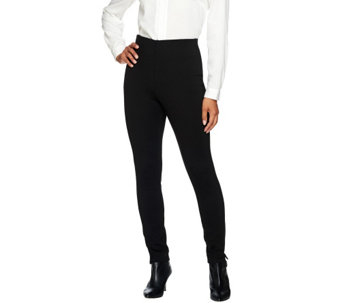 Kelly by Clinton Kelly Regular Pull-On Straight Leg Ponte Pants - A272020
