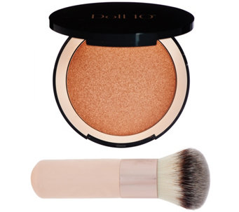 Doll 10 Micro-Pixel Face & Body Bronzer w/ Brush - A275420