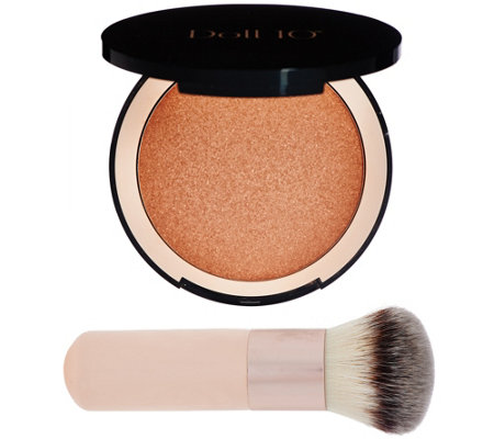 Doll 10 Micro-Pixel Face & Body Bronzer w/ Brush