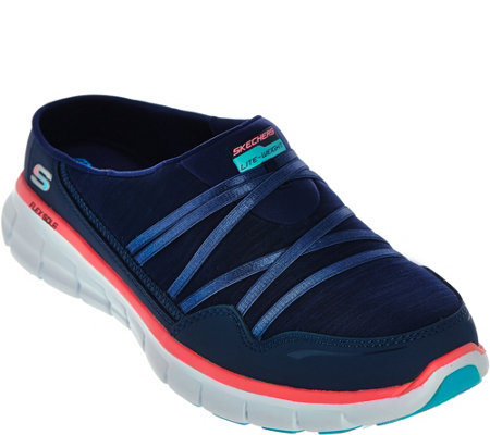 Skechers Mesh Bungee Slip-on Sneakers - Air Streamer