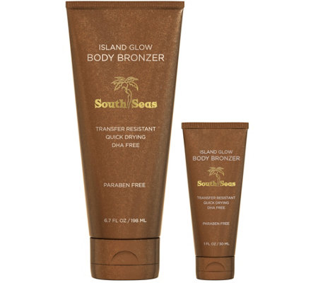 South Seas Island Glow Home & To Go Instant Body Bronzer