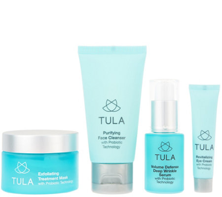 TULA Probiotic Skin Care Exfoliating Mask and Travel Set