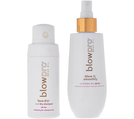 blowpro 1.7 oz. Oud Dry Shampoo Powder & Blow Dry Spray