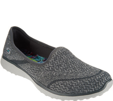 Skechers Microburst Soft-Knit Slip-Ons - All-Mine