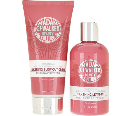 Madam C.J. Walker Silkening Blow-out Creme & Leave-In