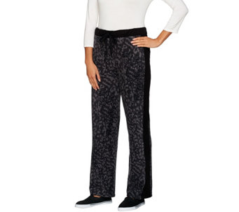 """As Is"" Cuddl Duds Fleecewear Stretch Lounge Pants - A292220"