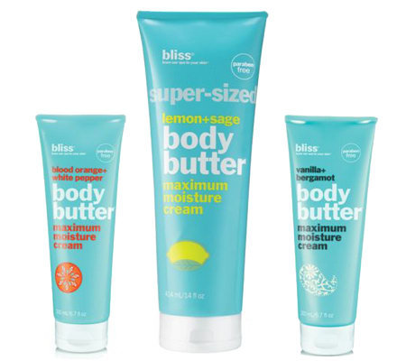 bliss Body Butter Trio