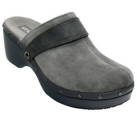 Crocs Women S Shoes Cobbler Studded Clogs