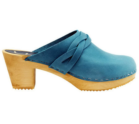 Cape Clogs Dala Sky Blue Style Clogs