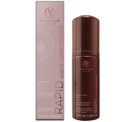 Vita Liberata Rapid Fast Acting 4-7 Day Self Ta n Mousse