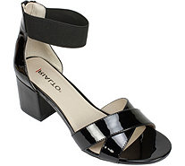 Rialto Block Heel Sandals with Ankle Strap - Cam - A358020