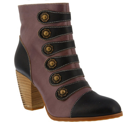 L'Artiste by Spring Step Leather Boots - Lovech