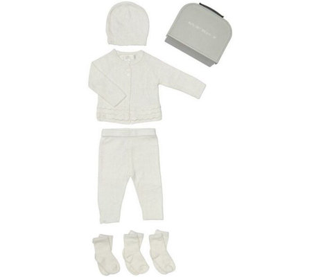 Barefoot Dreams Cozychic Lite Newborn Set for a Girl