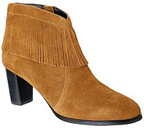 David Tate Leather Ankle Boots - Misty - A362720
