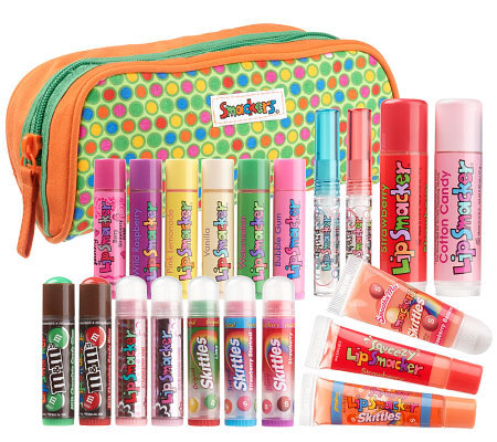 Lip Smacker Lover's 20-piece Collection with Travel Bag