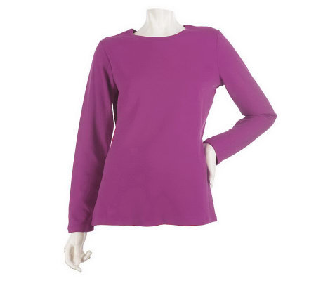 Liz Claiborne New York Essentials Long Sleeve T-shirt