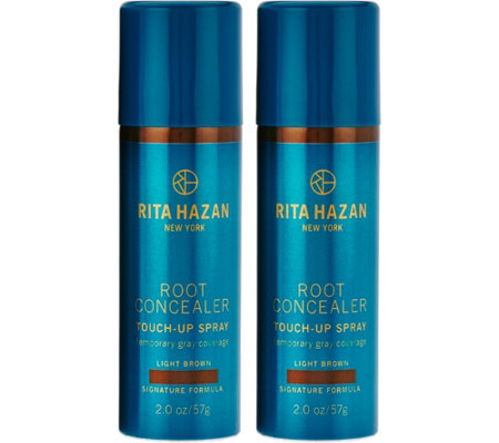 Rita Hazan Temporary Gray Coverage Root Concealer Duo, 2 oz.