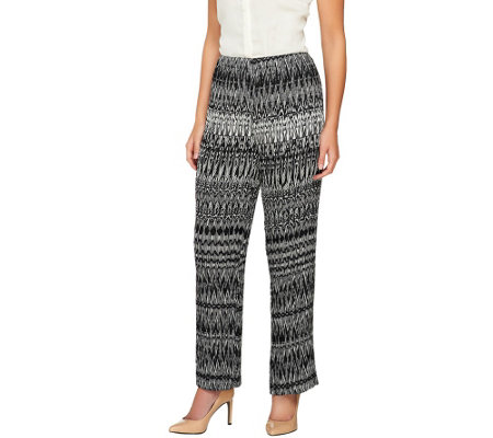 Sunny Leigh Pull-On Release Pleat Full Length Pants