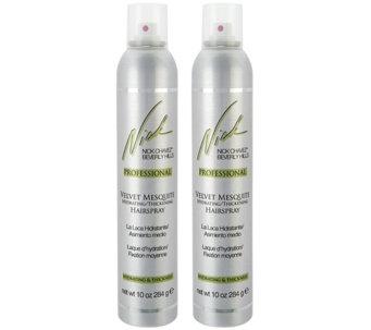 Nick Chavez Velvet Mesquite Hairspray Duo - A261721