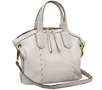 orYANY Cassie Pebbled Leather Mini Convertible Satchel - A262321