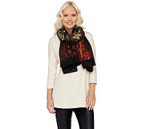 Susan Graver Printed Oblong Scarf - A269321