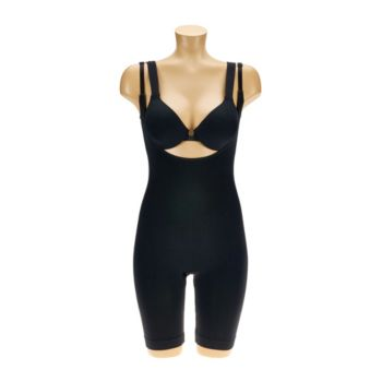 Airbrusher by Women with Control Open Bust Body Suit