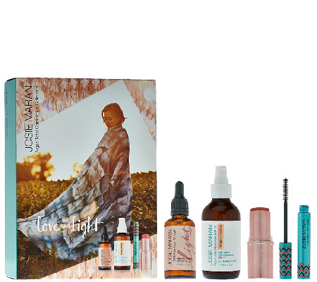 Josie Maran Argan Oil Love & Light 4-piece Collection