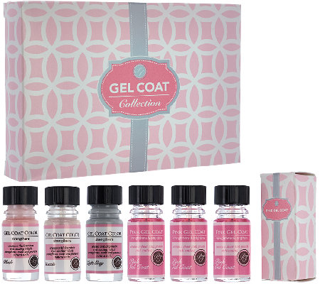 Perfect Formula Set of 6 Pink Gel Coat & Gel Coat Color Kit