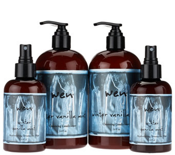 WEN by Chaz Dean Winter 16 oz. Cleansing Cond. & 6oz. Mist Duo - A271721