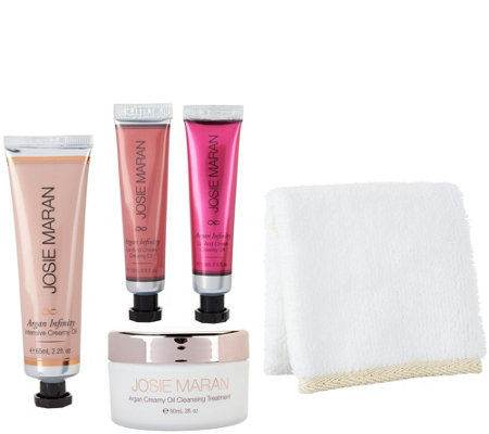 Josie Maran Best of Argan Creamy Oil Decadent 4-Piece Set