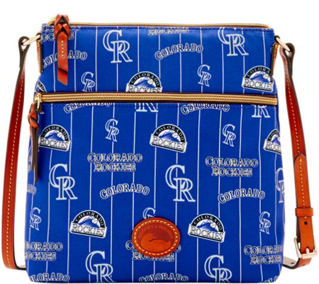 Dooney & Bourke MLB Nylon Rockies Crossbody