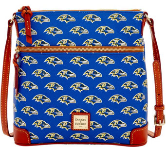 Dooney & Bourke NFL Ravens Crossbody - A285721
