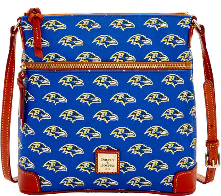 Dooney & Bourke NFL Ravens Crossbody