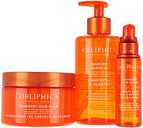 Obliphica Professional 3-Piece Seaberry Hair Treatment Kit - A293321