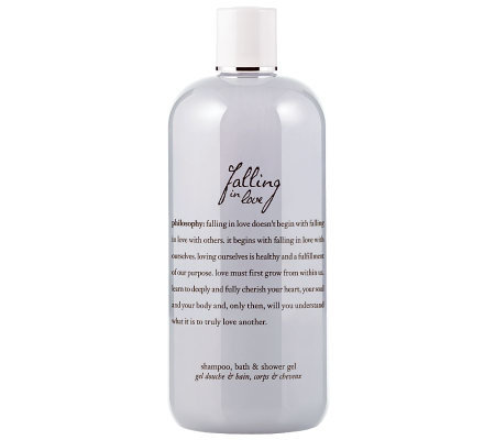 philosophy falling in love shower gel, 16 oz