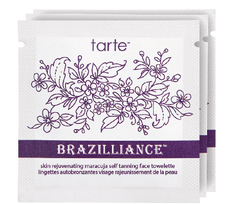 tarte Brazilliance Maracuja Self-Tanning Face Towelettes