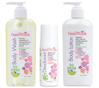 Good For You Girls 3-Piece Body Care Bundle - A339521