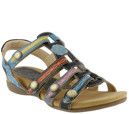 Spring Step L'Artiste Leather Sandals - Gipsy