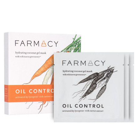 Farmacy Oil-Control Hydrating Coconut Gel Mask