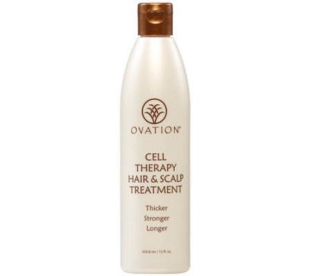 Ovation Cell Therapy Hair & Scalp Treatment, 12fl oz