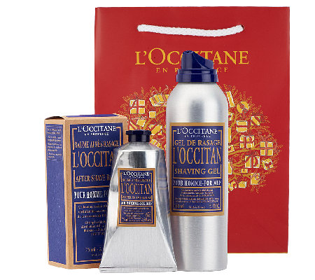 L'Occitane Men's Shaving Ritual Duo with Gift Bag