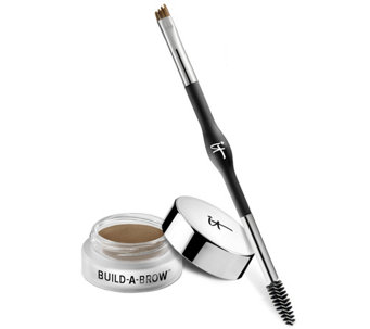 IT Cosmetics Build-A-Brow 24hr Waterproof 5 in1 Creme Gel Stain w/ Brush - A236722